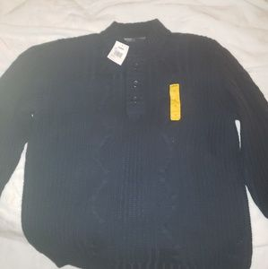 Cabelas XL knitted Sweater with buttons